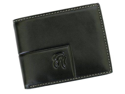 Gai Mattiolo Man Leather Wallet Small size Green-6296