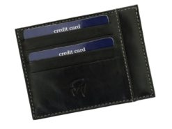 Gai Mattiolo Credit Card Holder Brown-4285