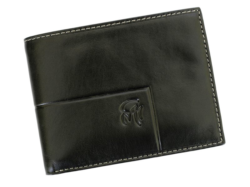 Gai Mattiolo Man Leather Wallet Blue-6319