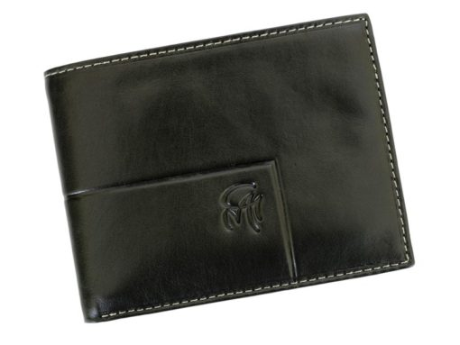 Gai Mattiolo Man Leather Wallet Black-6358