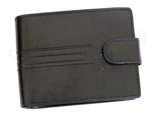 Pierre Cardin Man Leather Wallet Dark Brown-4879