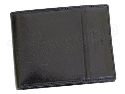 Emporio Valentini Man Leather Wallet Black-4718