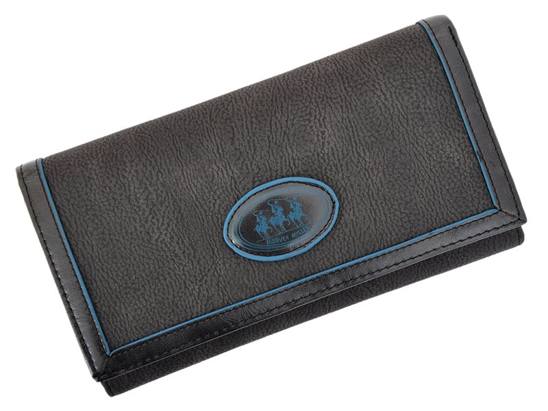 Harvey Miller Polo Club Women Leather Wallet/Purse Brown-5341