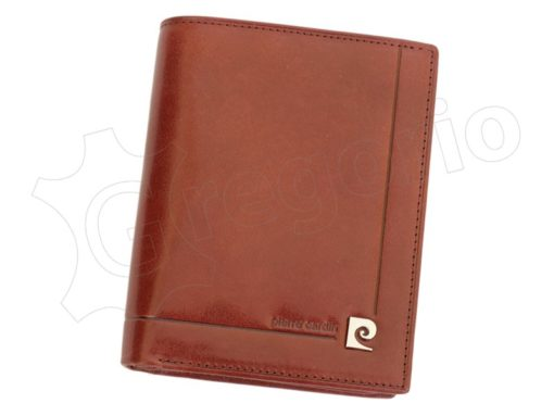 Pierre Cardin Man Leather Wallet Dark Brown-4929