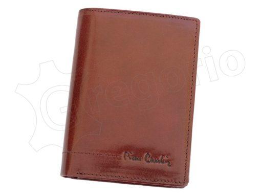 Pierre Cardin Man Leather Wallet Cognac-4987