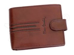 Pierre Cardin Man Leather Wallet Dark Brown-4804