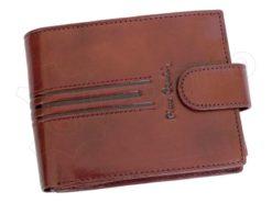 Pierre Cardin Man Leather Wallet Dark Brown-4883
