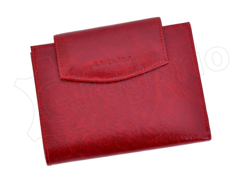 Z. Ricardo Woman Leather Wallet Red-4590
