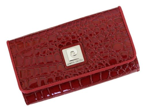 Pierre Cardin Women Leather Purse Brown-6109