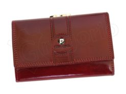 Pierre Cardin Women Leather Purse Claret-6650