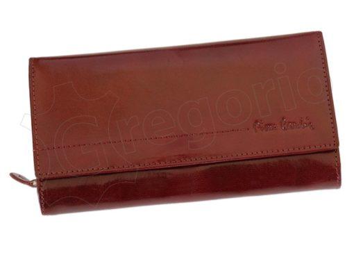 Pierre Cardin Women Leather Wallet/Purse Dark Red-5997