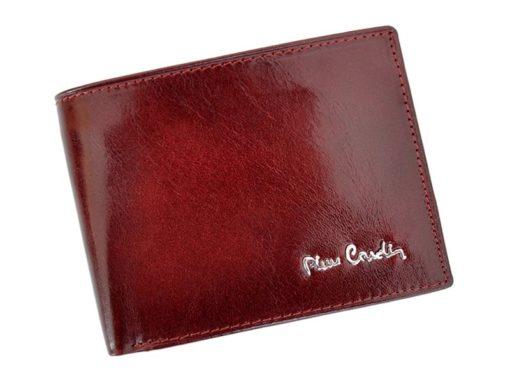 Pierre Cardin Man Leather Wallet Claret-4736