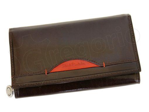 Renato Balestra Leather Women Purse/Wallet Blue Orange-5537