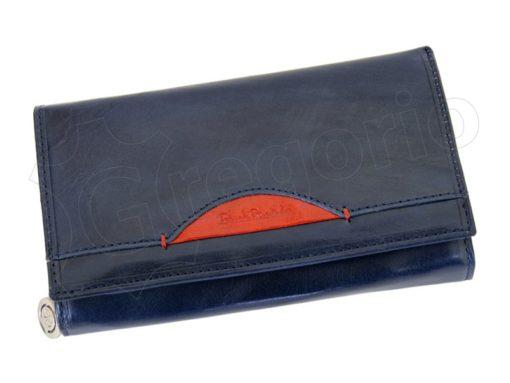 Renato Balestra Leather Women Purse/Wallet Dark Brown Orange-5506