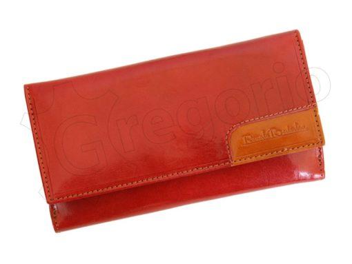 Renato Balestra Leather Women Purse/Wallet Orange Dark Brown-5588
