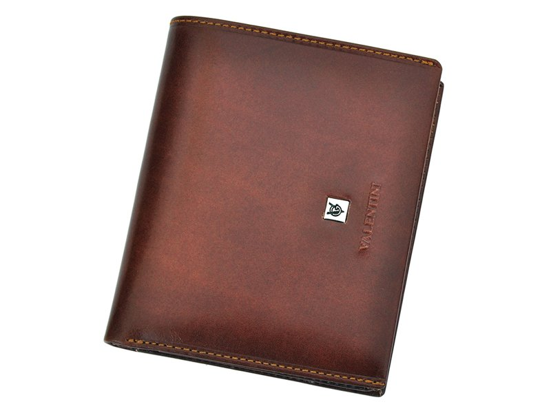 Leather Wallet Black Valentini Gino-4343