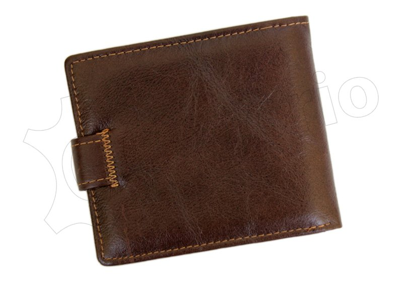 Wild Things Only Unique Leather Wallet Brown-4377