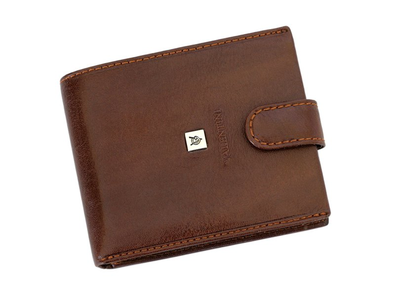 Leather Wallet Brown Valentini Gino-4317