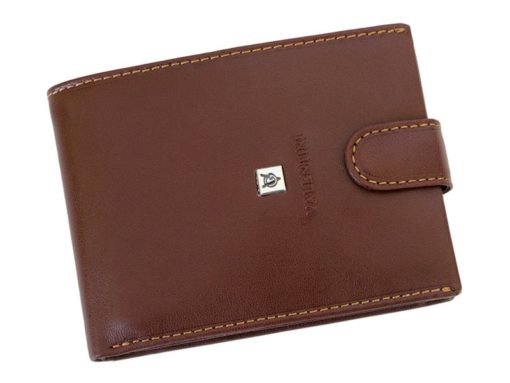 Gino Valentini Man Leather Wallet Brown-6680