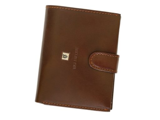 Gino Valentini Man Leather Wallet Brown-4529