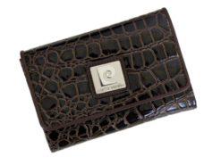 Pierre Cardin Women Leather Purse Medium Size Beige-6168