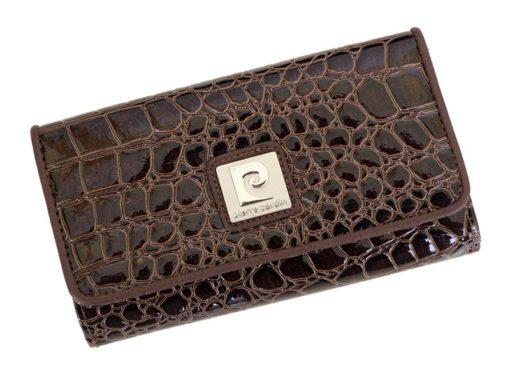 Pierre Cardin Women Leather Purse Blue-6080