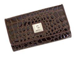 Pierre Cardin Women Leather Purse Brown-6114