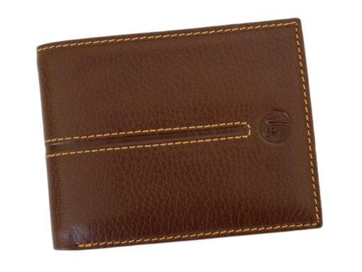 Gai Mattiolo Man Leather Wallet Brown-6432