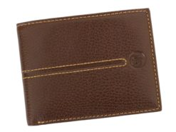 Gai Mattiolo Man Leather Wallet Orange-6579