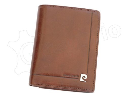 Pierre Cardin Man Leather Wallet Dark Brown-4935