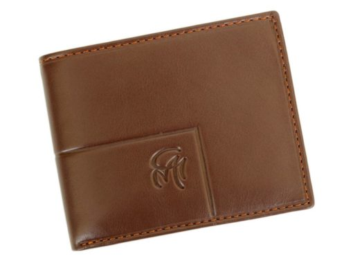 Gai Mattiolo Man Leather Wallet Small size Green-6288