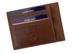 Gai Mattiolo Credit Card Holder Black-4279