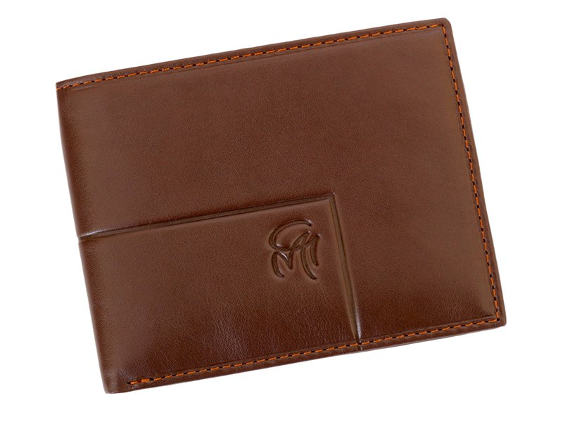 Gai Mattiolo Man Leather Wallet Green-6325