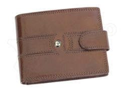 Pierre Cardin Man Leather Wallet Brown-6733