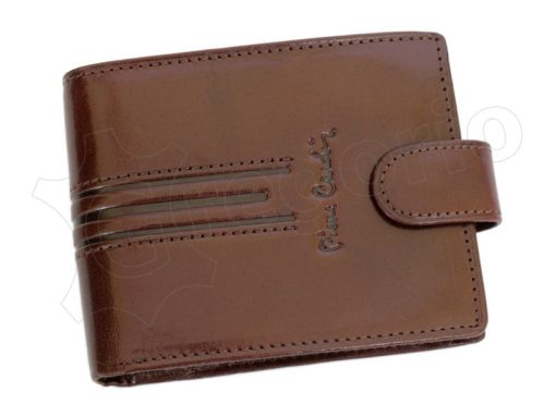 Pierre Cardin Man Leather Wallet Dark Brown-4796