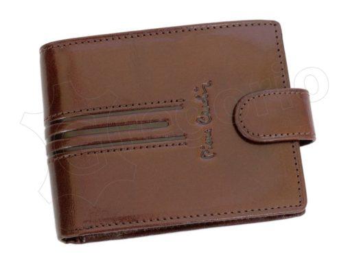 Pierre Cardin Man Leather Wallet Dark Black-4899