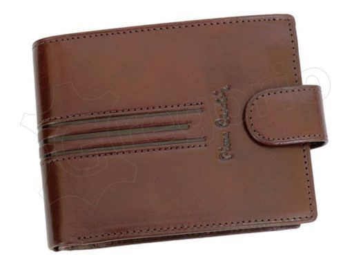 Pierre Cardin Man Leather Wallet Dark Brown-4884