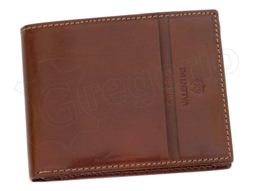 Emporio Valentini Man Leather Wallet Brown-4713
