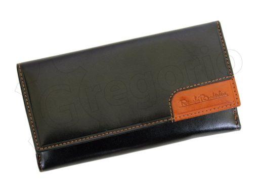 Renato Balestra Leather Women Purse/Wallet Orange Dark Brown-5585