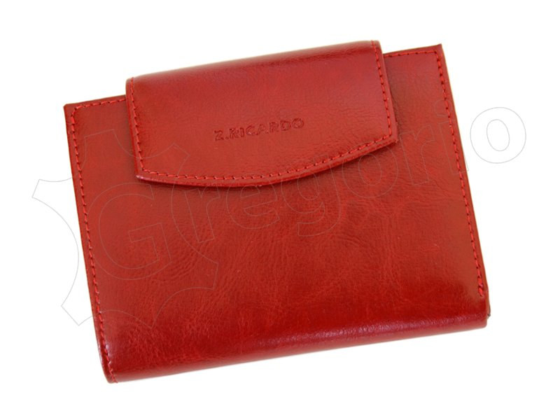 Z. Ricardo Woman Leather Wallet Light Brown-4534