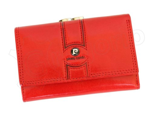 Pierre Cardin Women Leather Purse Claret-6648