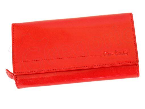 Pierre Cardin Women Leather Wallet/Purse Dark Red-6010