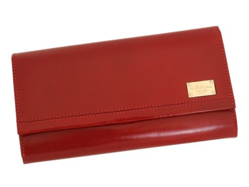 Paolo Bantacci Women Leather Wallet Red-4490