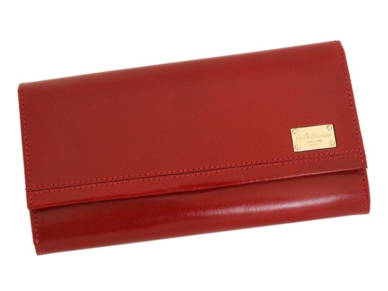 Paolo Bantacci Women Leather Wallet Black-4505