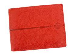 Gai Mattiolo Man Leather Wallet Red-6459