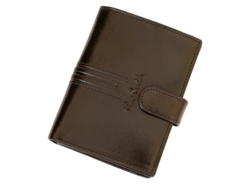 Pierre Cardin Man Leather Wallet Dark Brown-4919