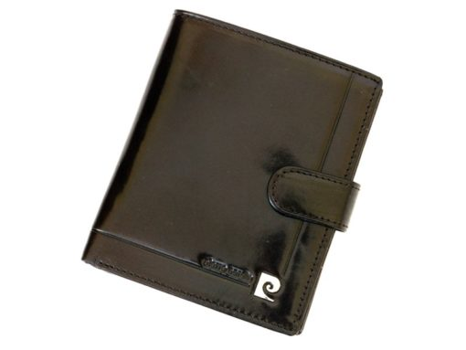 Pierre Cardin Man Leather Wallet Dark Brown-6727