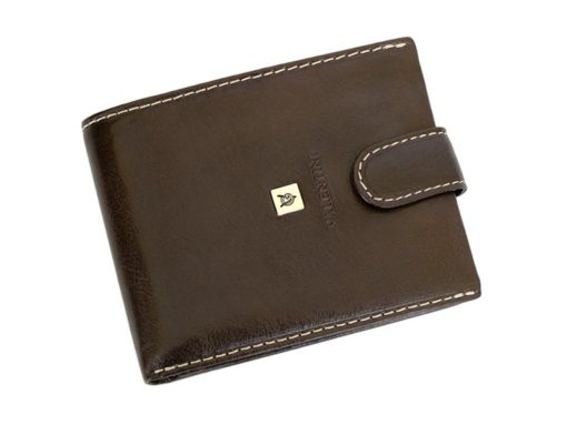Leather Wallet Black Valentini Gino-4315
