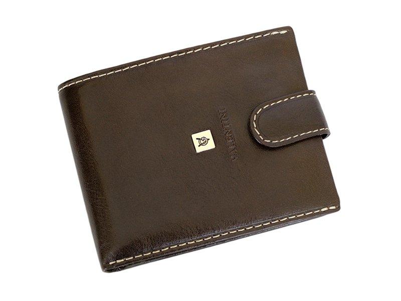 Leather Wallet Black Valentini Gino-4315