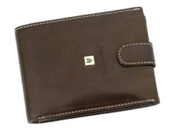 Gino Valentini Man Leather Wallet Brown-6675